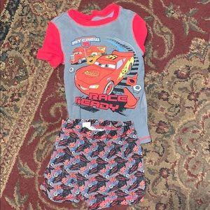Size 5 boys pajama set